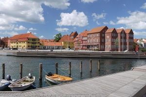 Kerteminde town harbour