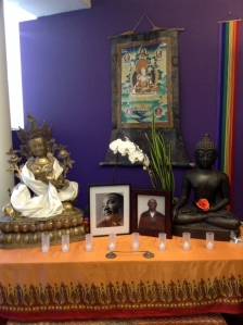 Shrine at East Bay Meditation Center, Oakland, California