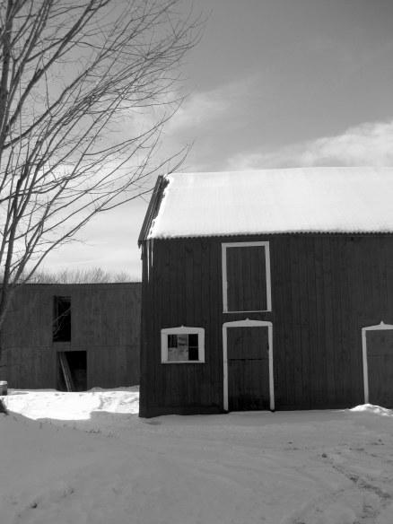 January 2010 snow barn Massachusetts