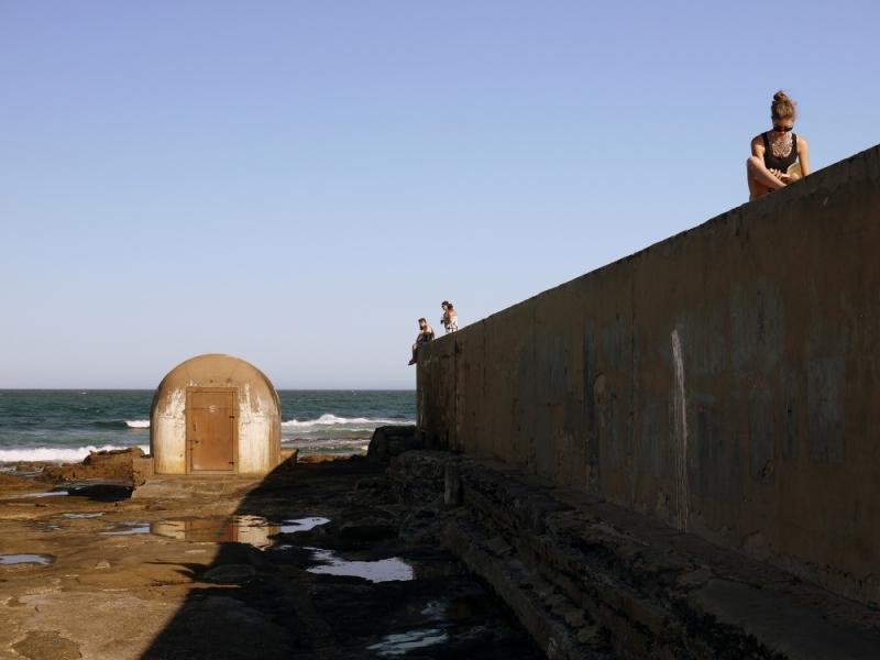 sea wall woman 2