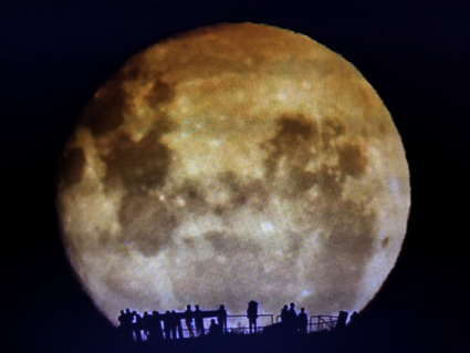 super moon Wellington