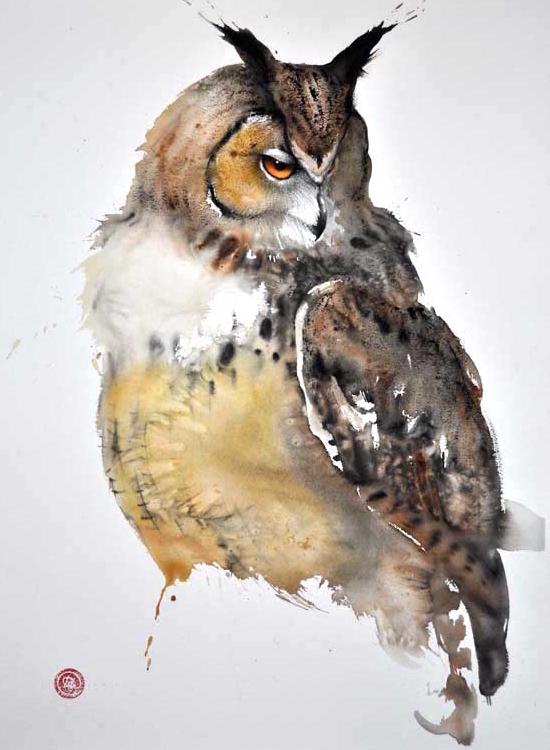 Snowy Owl - Karl Martens