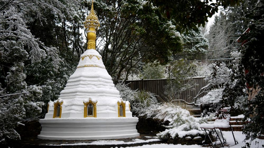 stupa snow 3